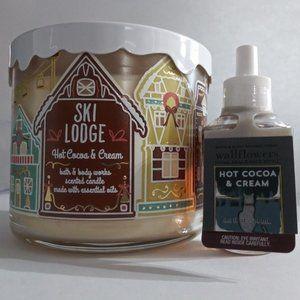 BATH & BODY WORKS /Hot Cocoa & Cream Bundle